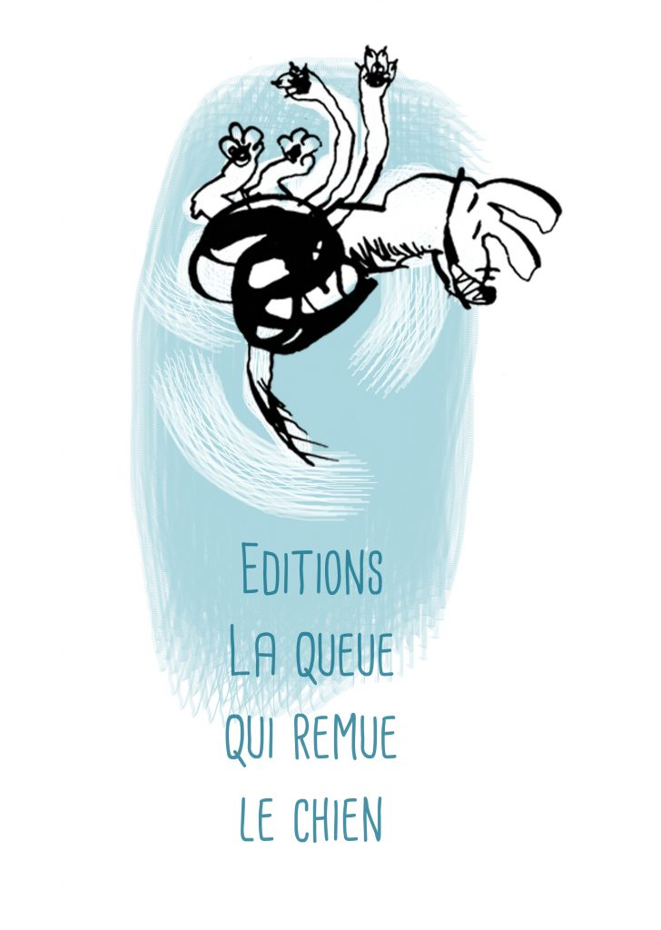 La queu qui remue le chien éditions Mu micro-édition livre d'artiste