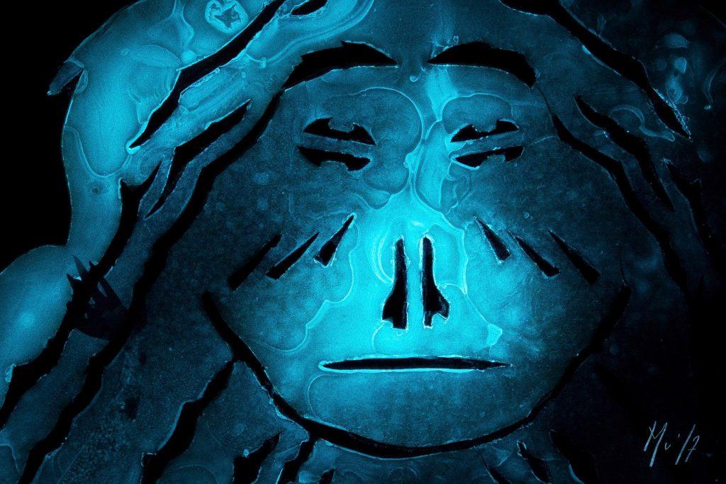 Stella Maris Bioluminescence Art Mer