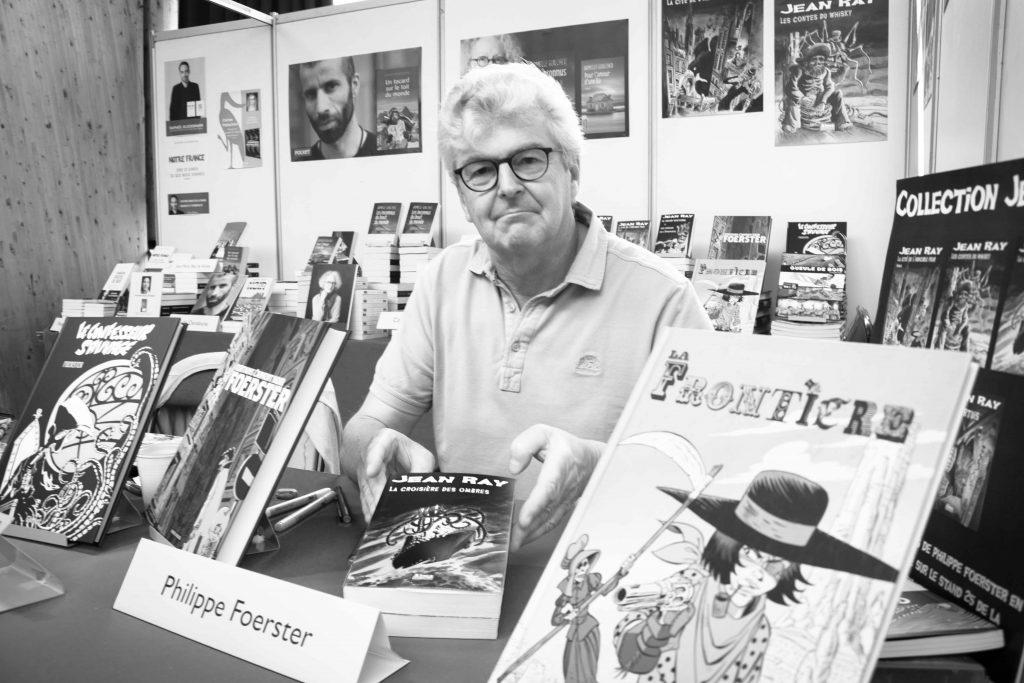 Philippe Foerster Etonnants Voyageurs Saint Malo Alma Editions Dedicaces
