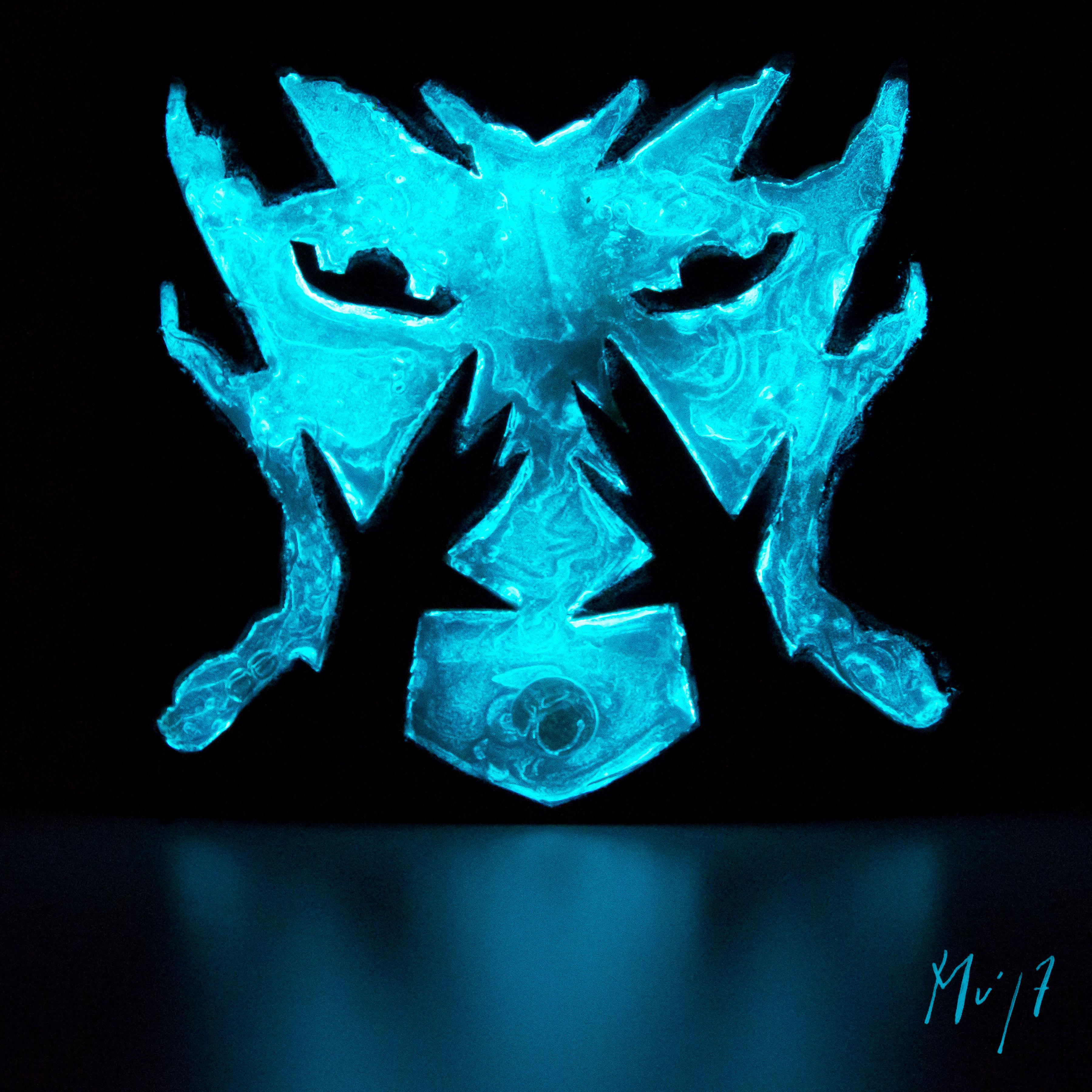Pas vu Pas pris! Mu Art bioluminescent Muriel Blondeau