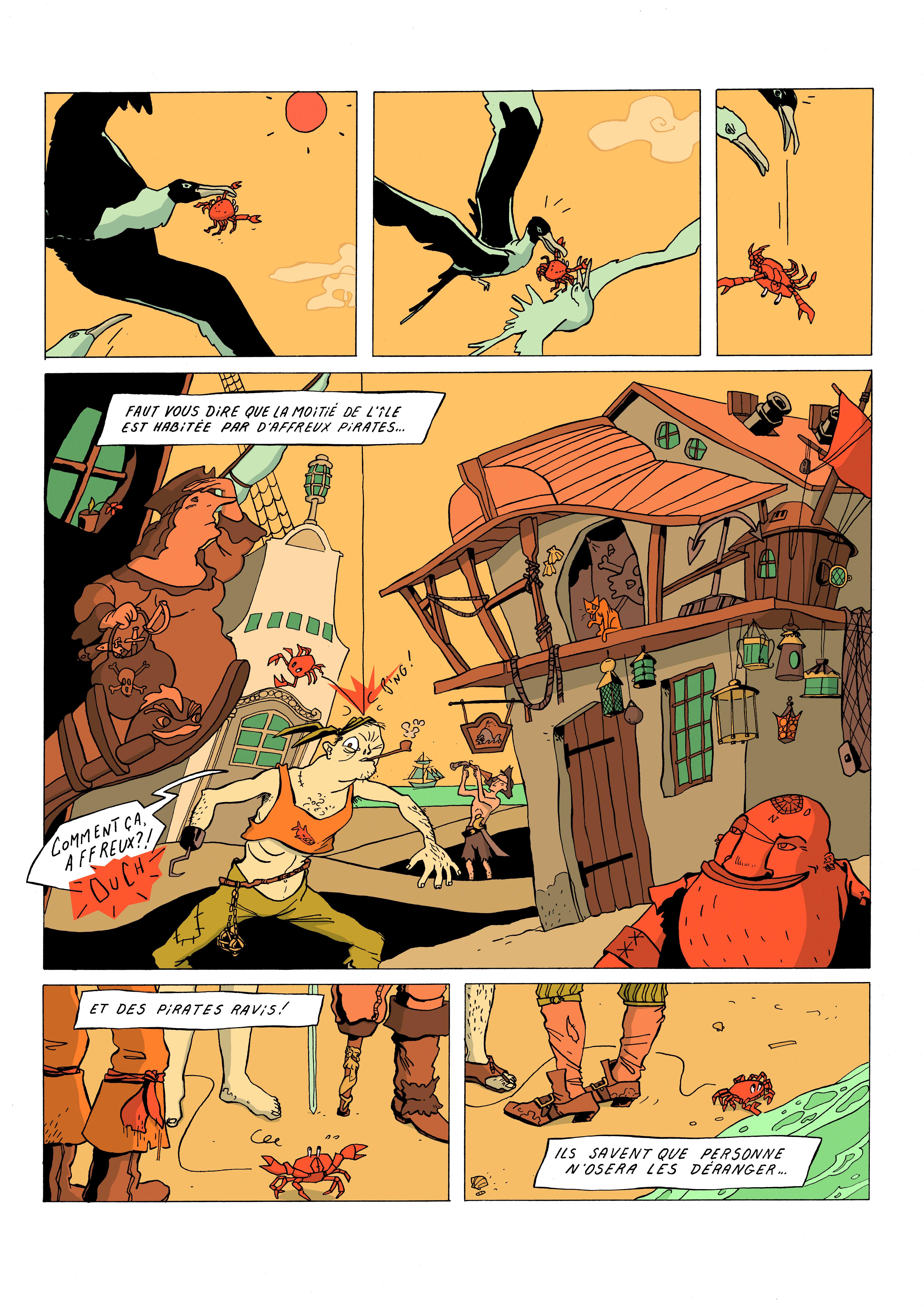 Fanny Catastrophe Mu BD Muriel Blondeau pirate mer planche 2