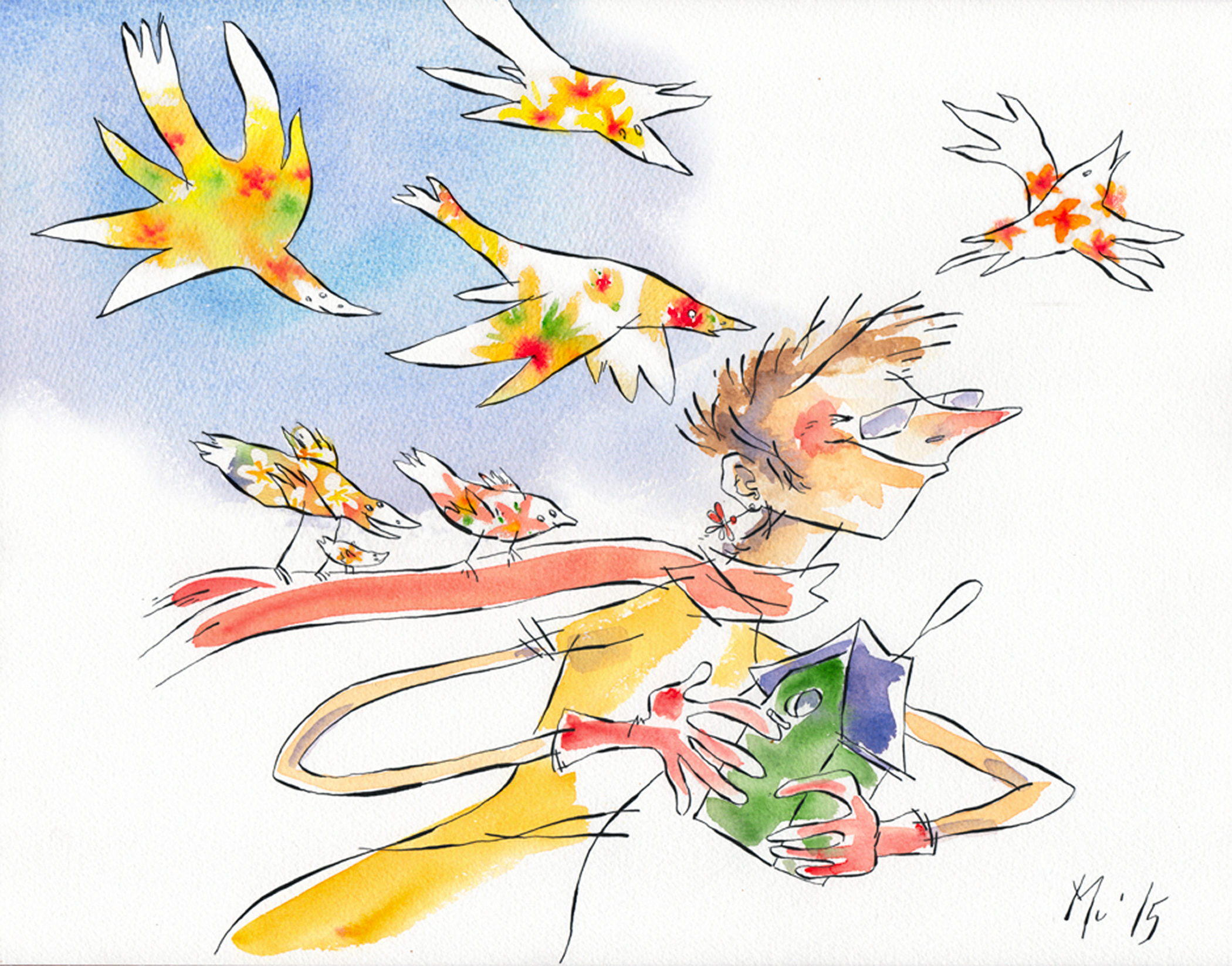 Faut que ça tchîîîpe Mu Muriel Blondeau Natagora oiseaux nichoir