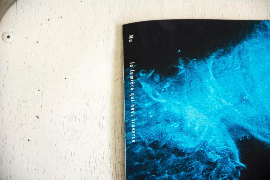 La lumière qui nous traverse livre Mu Art Bioluminescent Muriel Blondeau