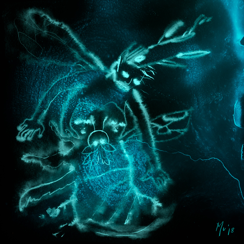 Une autre Nuit Mu Art bioluminescent Muriel Blondeau