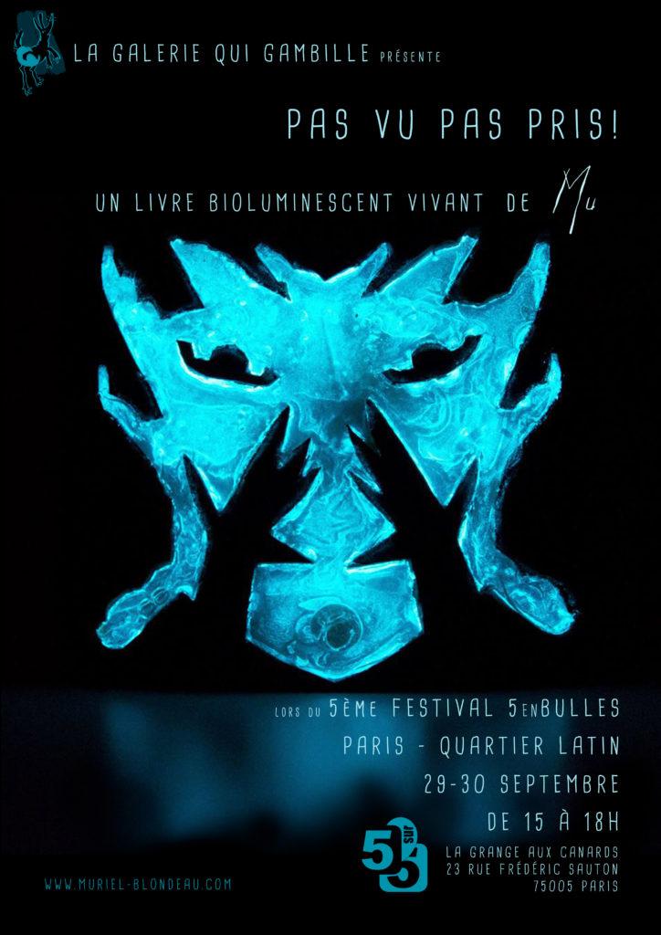 5enbulles Mu Blondeau Bioluminescent