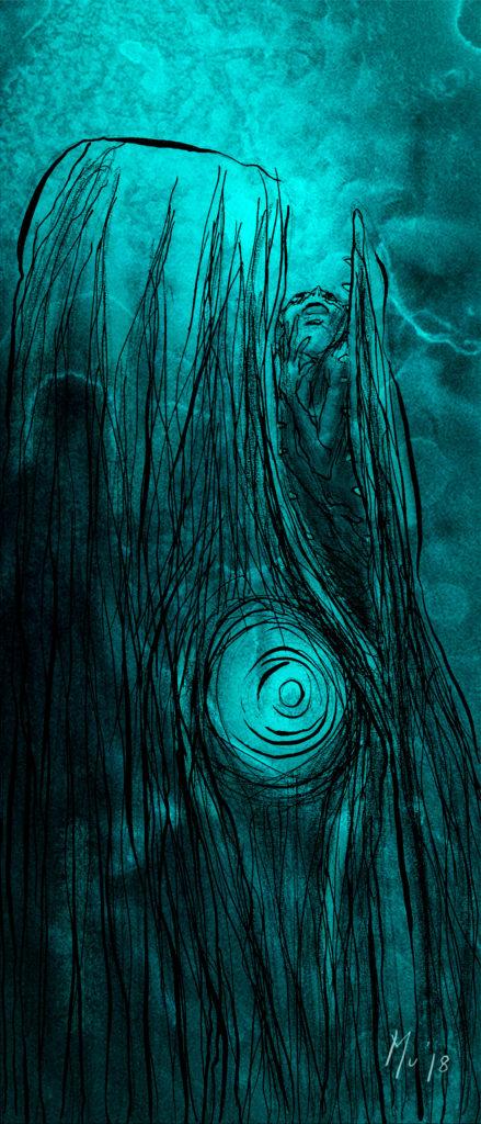 Mu Blondeau Art Bioluminescent Sans Doute Cachalot