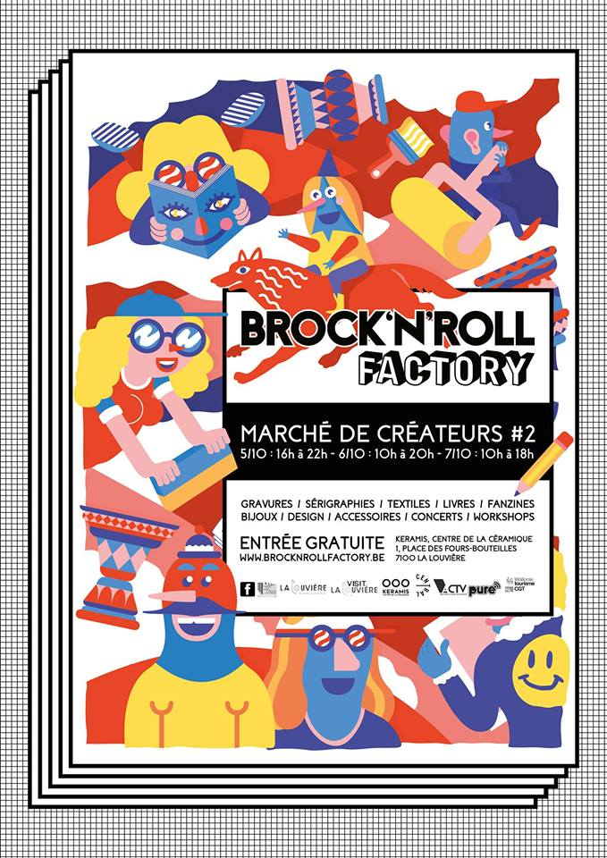 Patrick Croes Brock'N'Roll Factory Exposition Mu Blondeau