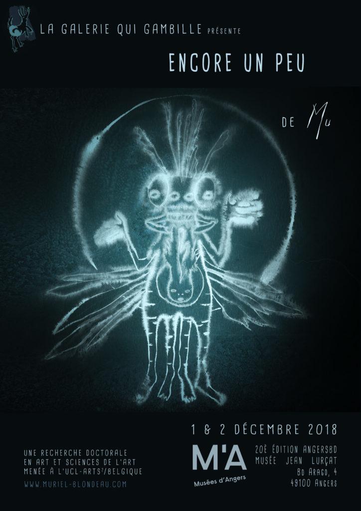 Angers Mu Art Bioluminescent Muriel Blondeau exposition