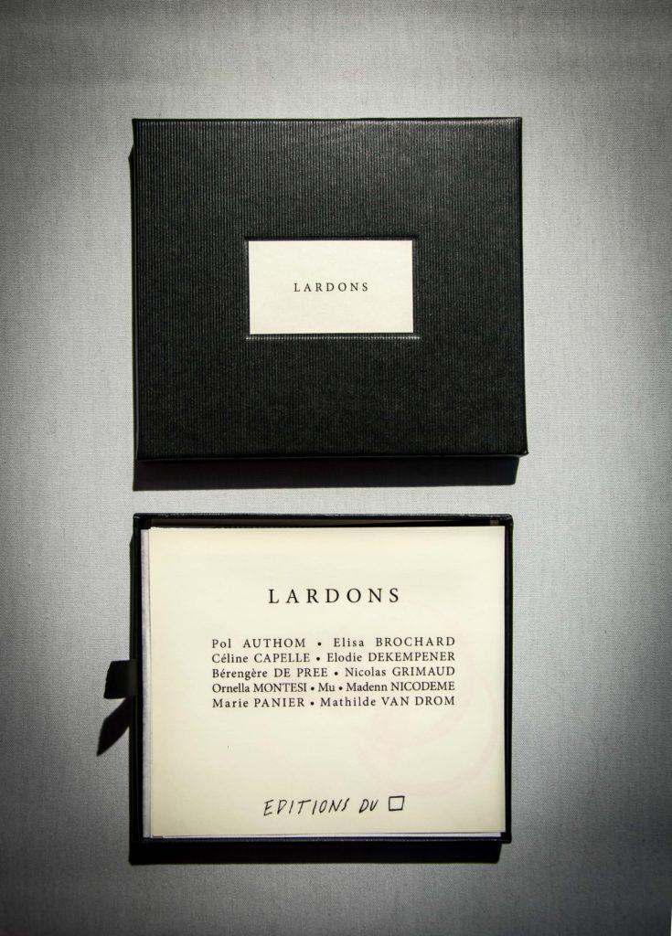 Lardons! Editions du carré Mu Blondeau