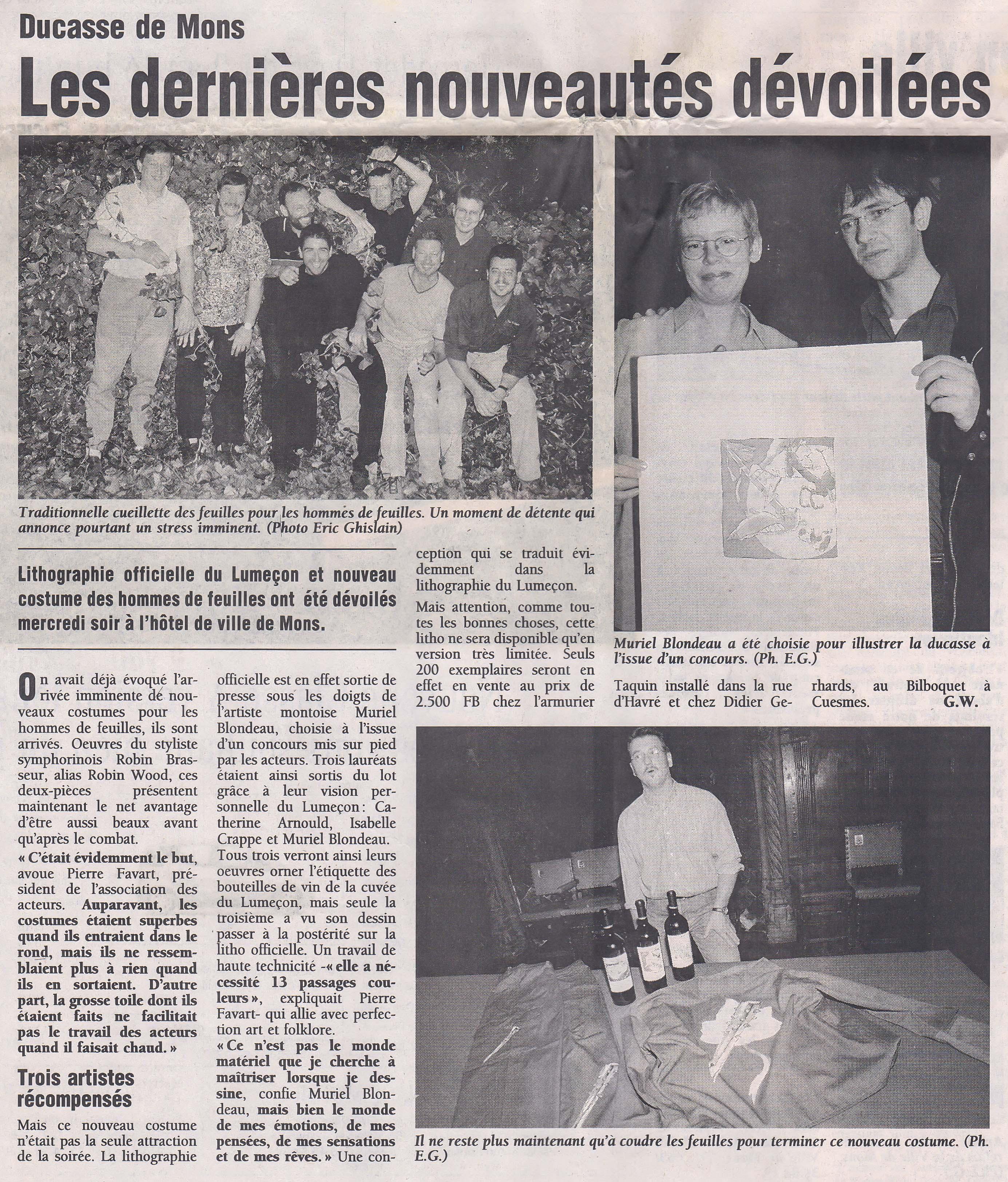 Mu Blondeau Doudou lithographie