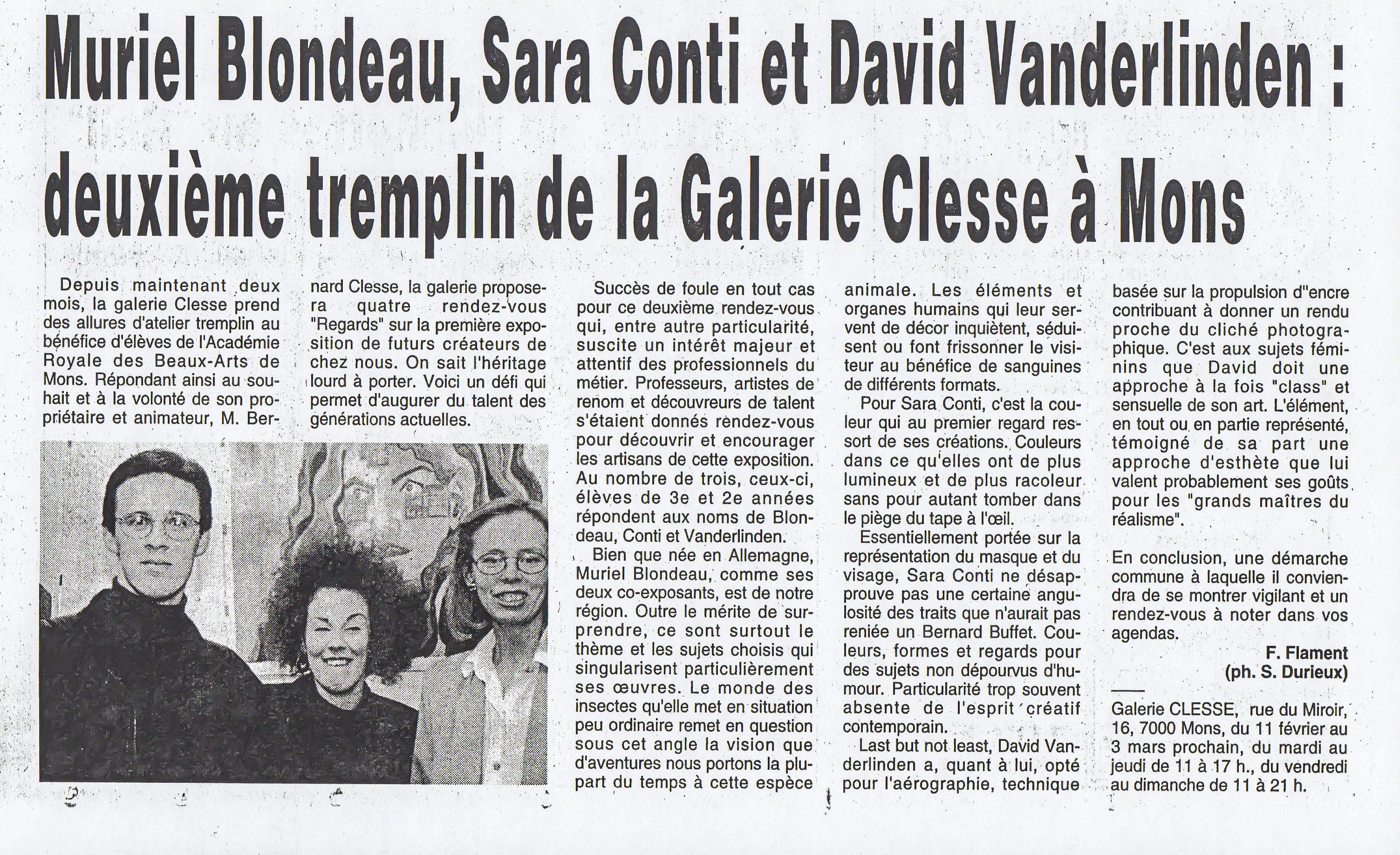 Mu Blondeau Galerie Clesse