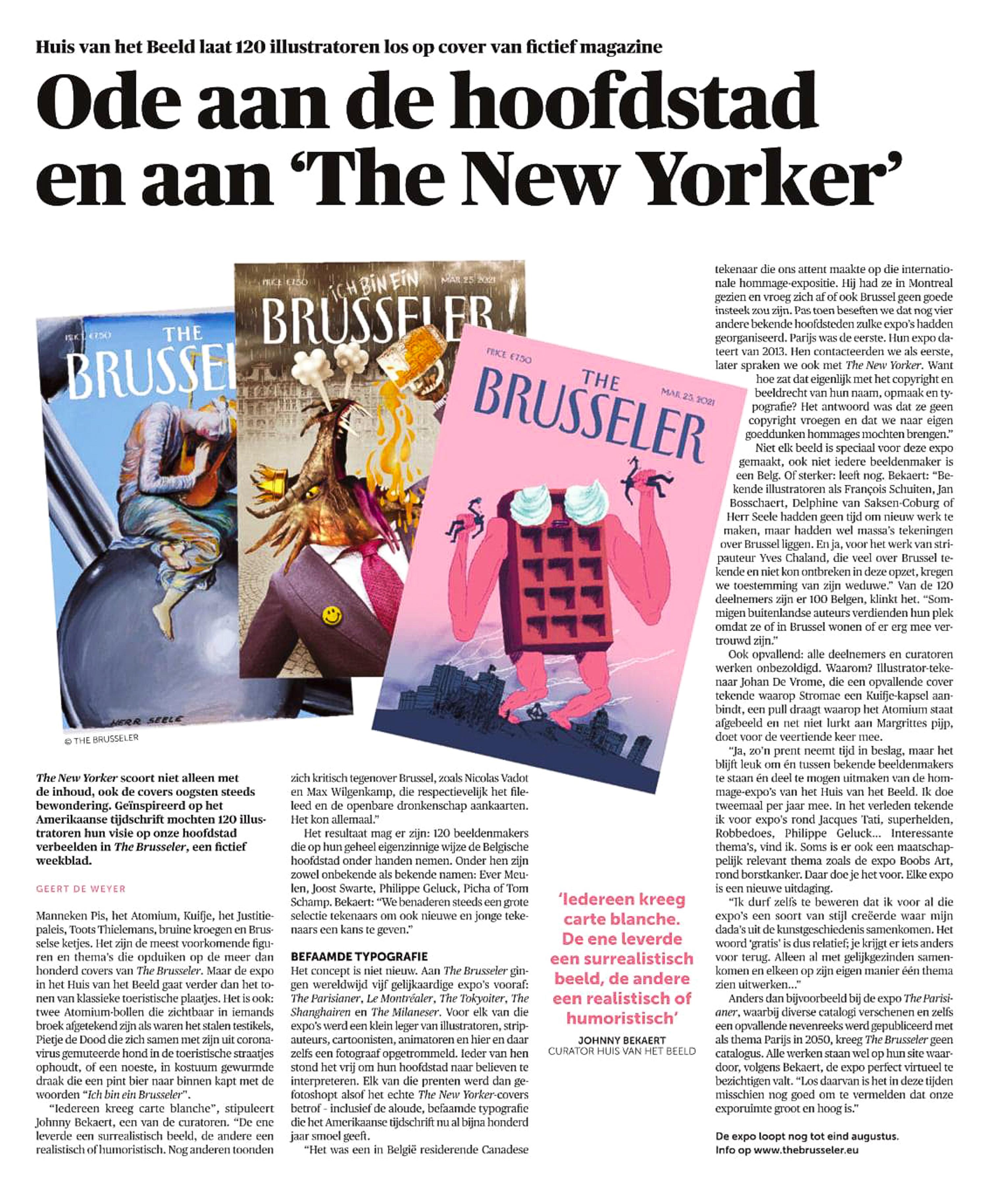 Mu Blondeau Expo The Brusseler DeMorgen 06.04.2021 Geert De Weyer-2