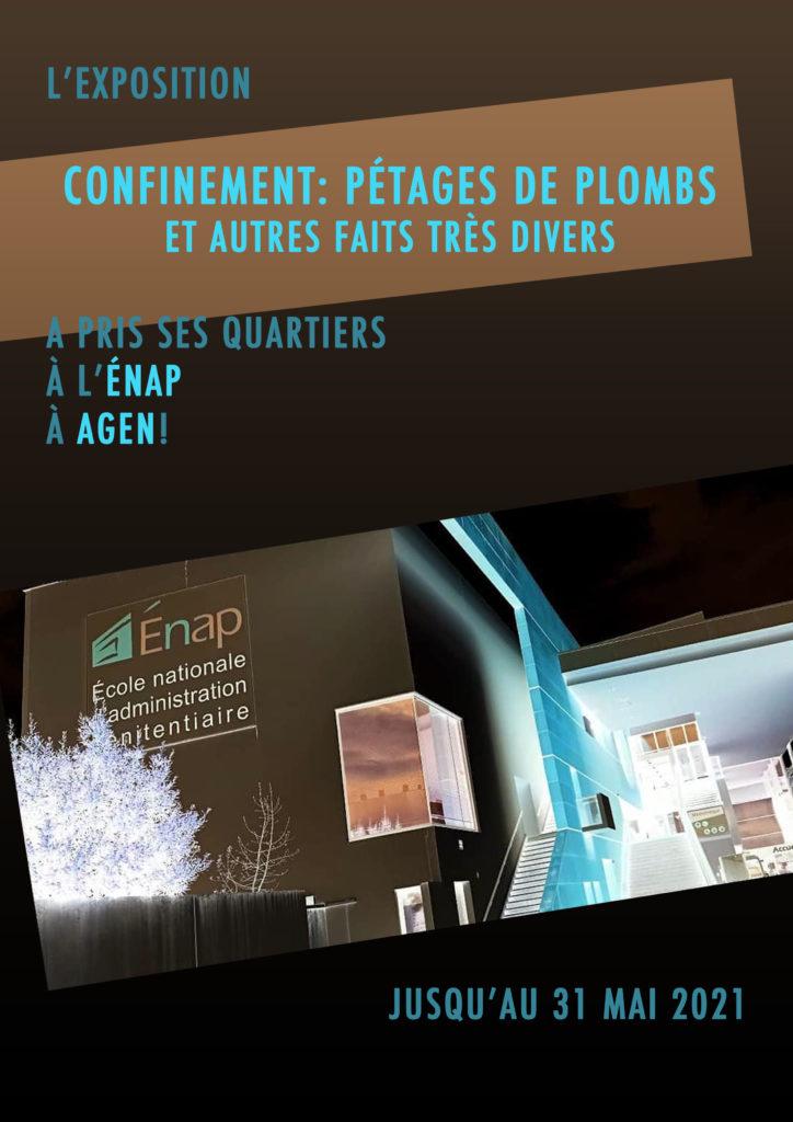 Mu Blondeau expo Pétages de plombs ENAP Pollen Lolmède