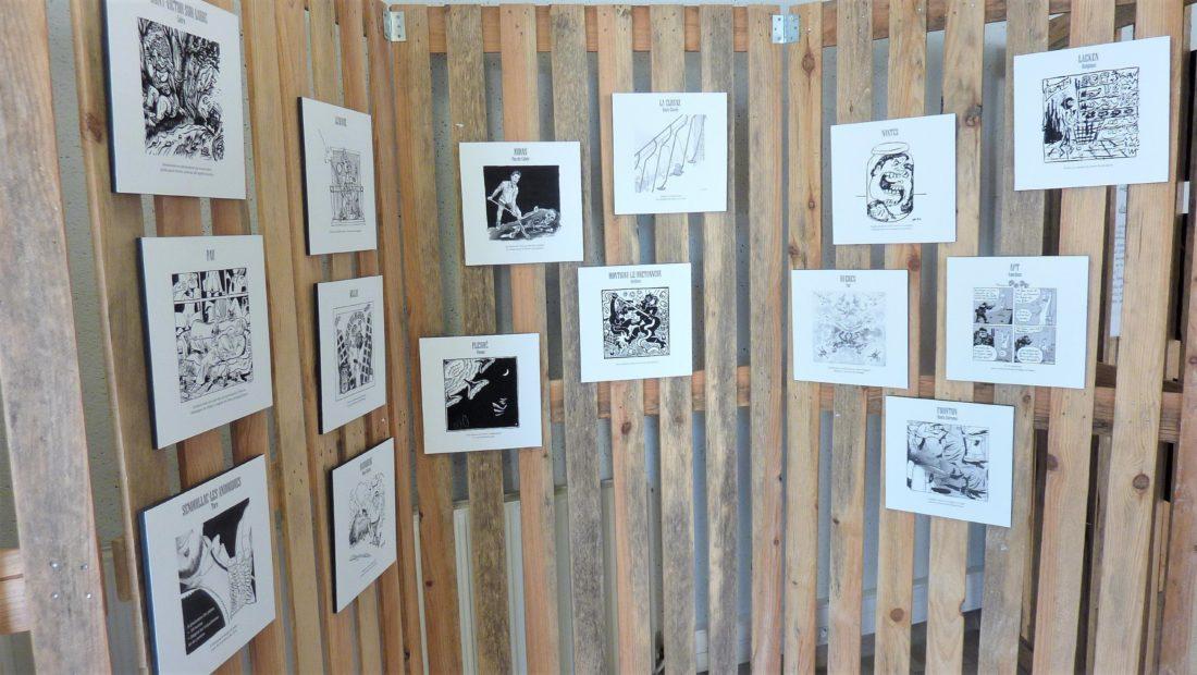 Expo Pétages des Plombs Lavardac Lolmède Mu Blondeau - photo de DDM AV